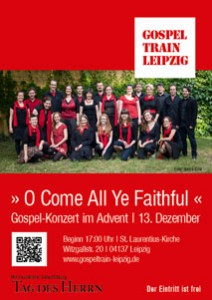 Plakat zum Adventskonzert