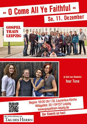 Das Plakat zum Adventskonzert am 11. Dezember 2016 in St. Laurentius